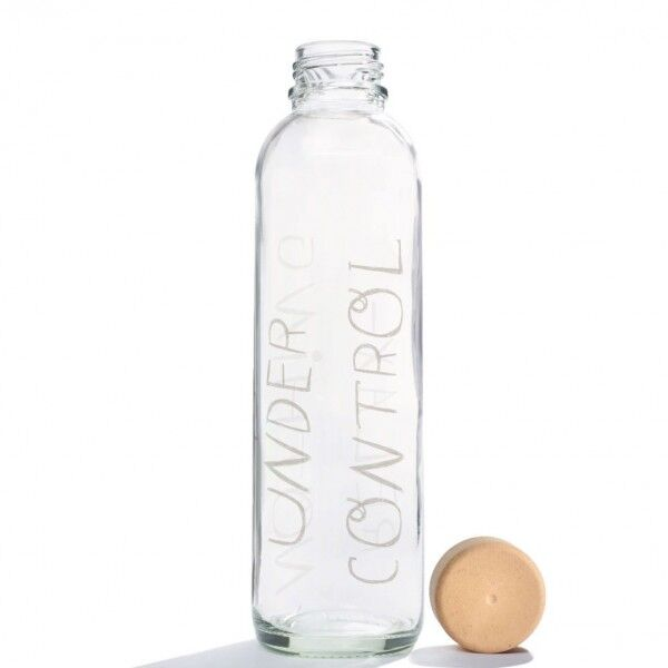 CARRY reusable glass water bottle 700ml - Relax, CARRY, Germany
