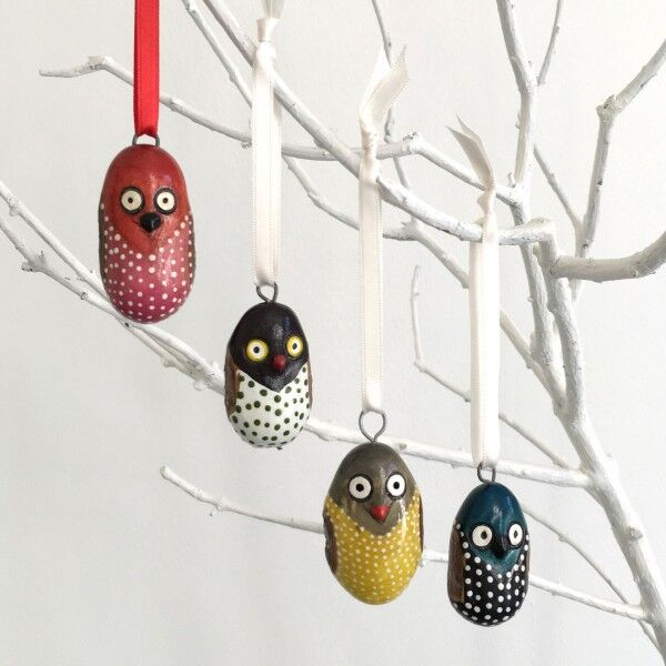 Mifuko Wooden Ornament Collection