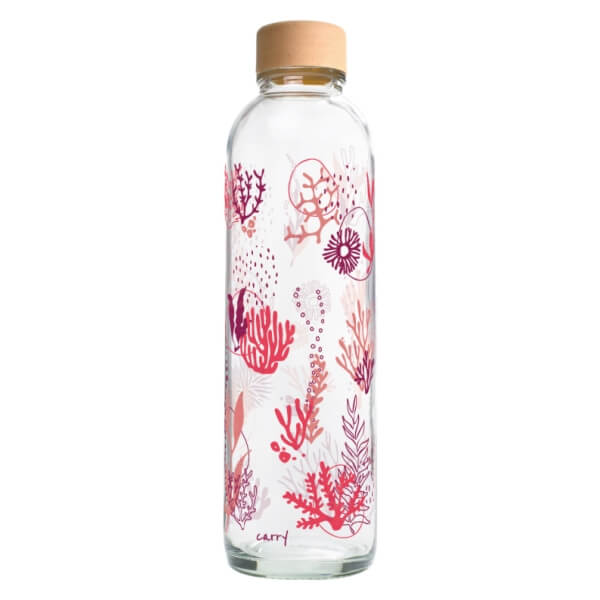CARRY Glastrinkflasche 0,7l - Coral Reef, CARRY, Deutschland
