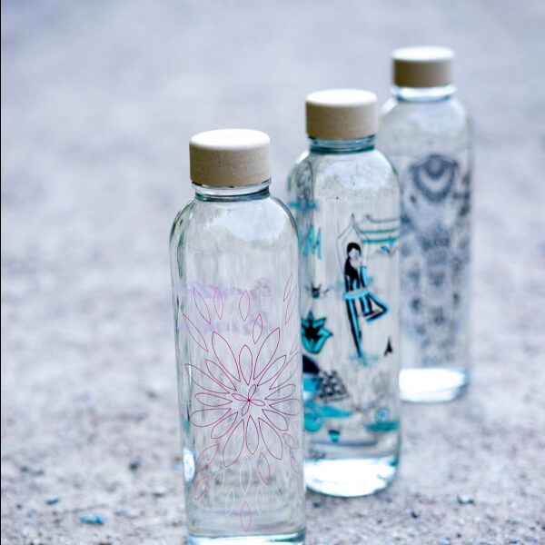 CARRY Glastrinkflasche 0,7l - Breathe In